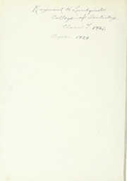 Page 4, 1920 Edition, University of Minnesota - Gopher Yearbook (Minneapolis, MN) online yearbook collection