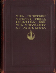 Page 1, 1923 Edition, University of Minnesota - Gopher Yearbook (Minneapolis, MN) online yearbook collection