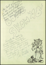 Page 3, 1948 Edition, Helena High School - Vigilante Yearbook (Helena, MT) online yearbook collection