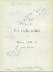 Page 7, 1953 Edition, Helena High School - Vigilante Yearbook (Helena, MT) online yearbook collection