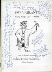Page 5, 1957 Edition, Helena High School - Vigilante Yearbook (Helena, MT) online yearbook collection