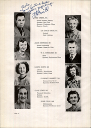 Page 16, 1947 Edition, Flathead High School - Flathead Yearbook (Kalispell, MT) online yearbook collection