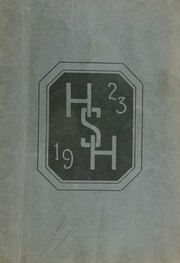 1923 Edition, Havre High School - Blue Pony Yearbook (Havre, MT)