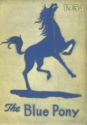 1954 Edition, Havre High School - Blue Pony Yearbook (Havre, MT)