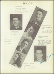 Page 15, 1949 Edition, Fergus County High School - Fergus Yearbook (Lewistown, MT) online yearbook collection