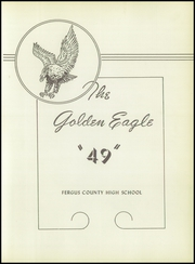 Page 7, 1949 Edition, Fergus County High School - Fergus Yearbook (Lewistown, MT) online yearbook collection