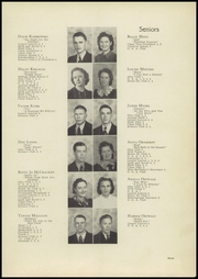 Page 13, 1940 Edition, Laurel High School - Laurels Yearbook (Laurel, MT) online yearbook collection