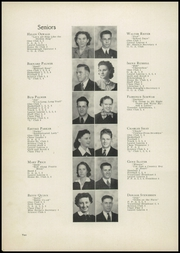 Page 14, 1940 Edition, Laurel High School - Laurels Yearbook (Laurel, MT) online yearbook collection