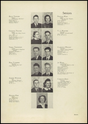Page 15, 1940 Edition, Laurel High School - Laurels Yearbook (Laurel, MT) online yearbook collection