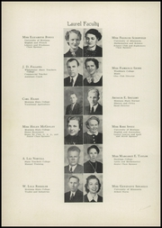 Page 8, 1940 Edition, Laurel High School - Laurels Yearbook (Laurel, MT) online yearbook collection