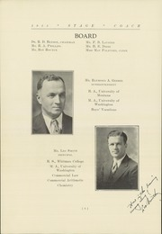 Page 10, 1935 Edition, Sidney High School - Stage Coach Yearbook (Sidney, MT) online yearbook collection
