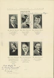 Page 11, 1935 Edition, Sidney High School - Stage Coach Yearbook (Sidney, MT) online yearbook collection