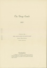 Page 7, 1935 Edition, Sidney High School - Stage Coach Yearbook (Sidney, MT) online yearbook collection