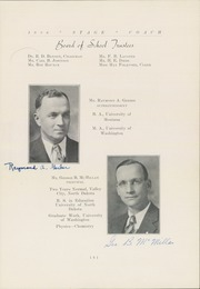 Page 11, 1936 Edition, Sidney High School - Stage Coach Yearbook (Sidney, MT) online yearbook collection