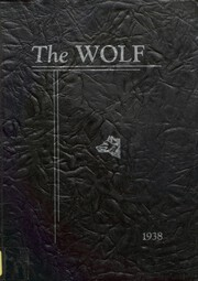 1938 Edition, Cut Bank High School - Wolf Yearbook (Cut Bank, MT)