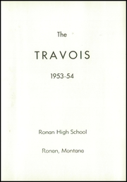 Page 7, 1954 Edition, Ronan High School - Travois Yearbook (Ronan, MT) online yearbook collection