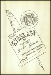 Page 7, 1951 Edition, Browning High School - Etaikasi Yearbook (Browning, MT) online yearbook collection