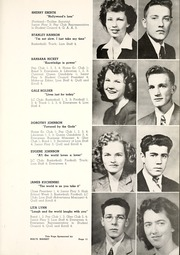 Page 15, 1948 Edition, Lincoln County High School - Lincoln Lion Yearbook (Eureka, MT) online yearbook collection