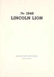 Page 7, 1948 Edition, Lincoln County High School - Lincoln Lion Yearbook (Eureka, MT) online yearbook collection