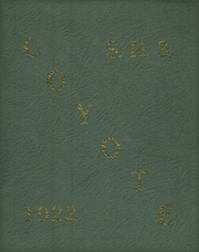 1922 Edition, Shelby High School - Coyote Yearbook (Shelby, MT)