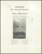 Page 5, 1922 Edition, Shelby High School - Coyote Yearbook (Shelby, MT) online yearbook collection