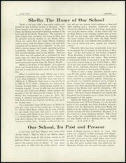 Page 8, 1922 Edition, Shelby High School - Coyote Yearbook (Shelby, MT) online yearbook collection