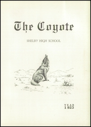 Page 5, 1923 Edition, Shelby High School - Coyote Yearbook (Shelby, MT) online yearbook collection