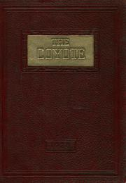 1928 Edition, Shelby High School - Coyote Yearbook (Shelby, MT)