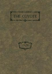 1929 Edition, Shelby High School - Coyote Yearbook (Shelby, MT)