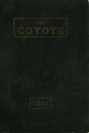 1931 Edition, Shelby High School - Coyote Yearbook (Shelby, MT)