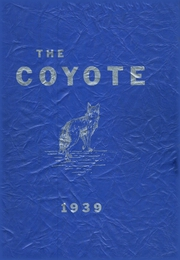 1939 Edition, Shelby High School - Coyote Yearbook (Shelby, MT)
