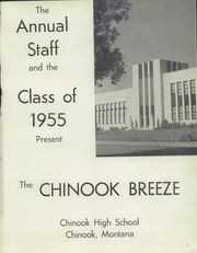 Page 5, 1955 Edition, Chinook High School - Breeze Yearbook (Chinook, MT) online yearbook collection