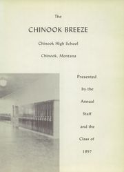 Page 5, 1957 Edition, Chinook High School - Breeze Yearbook (Chinook, MT) online yearbook collection