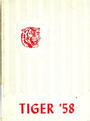 1958 Edition, Simms High School - Tiger Yearbook (Simms, MT)