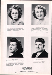 Page 16, 1951 Edition, Manhattan High School - Tiger Yearbook (Manhattan, MT) online yearbook collection
