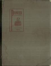 Page 1, 1922 Edition, Fort Benton High School - Pioneer Yearbook (Fort Benton, MT) online yearbook collection