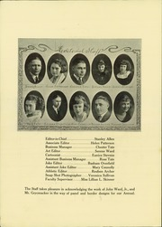 Page 14, 1922 Edition, Fort Benton High School - Pioneer Yearbook (Fort Benton, MT) online yearbook collection