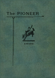 Fort Benton High School - Pioneer Yearbook (Fort Benton, MT) online yearbook collection, 1939 Edition, Page 1