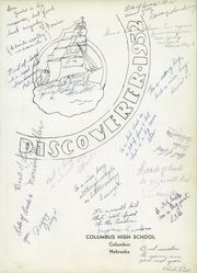 Page 5, 1952 Edition, Columbus High School - Discoverer Yearbook (Columbus, NE) online yearbook collection