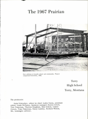 Page 5, 1967 Edition, Terry High School - Prairian Yearbook (Terry, MT) online yearbook collection