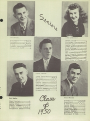Page 11, 1950 Edition, Granite County High School - Granitonian Yearbook (Philipsburg, MT) online yearbook collection