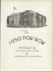 Page 7, 1950 Edition, Centerville High School - Pow Wow Yearbook (Sand Coulee, MT) online yearbook collection