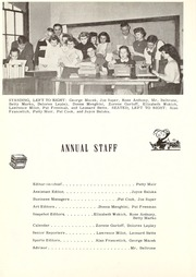 Page 12, 1954 Edition, Centerville High School - Pow Wow Yearbook (Sand Coulee, MT) online yearbook collection