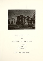 Page 7, 1954 Edition, Centerville High School - Pow Wow Yearbook (Sand Coulee, MT) online yearbook collection