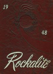 1948 Edition, Catholic Central High School - Rockalite Yearbook (Anaconda, MT)