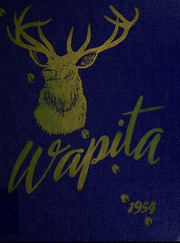 1954 Edition, Augusta High School - Wapiti Yearbook (Augusta, MT)
