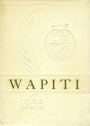1956 Edition, Augusta High School - Wapiti Yearbook (Augusta, MT)
