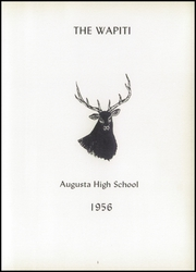 Page 7, 1956 Edition, Augusta High School - Wapiti Yearbook (Augusta, MT) online yearbook collection