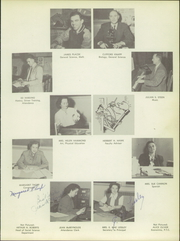 Page 11, 1952 Edition, Gallatin County High School - Gallatin Yearbook (Bozeman, MT) online yearbook collection