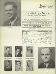 Page 14, 1952 Edition, Gallatin County High School - Gallatin Yearbook (Bozeman, MT) online yearbook collection